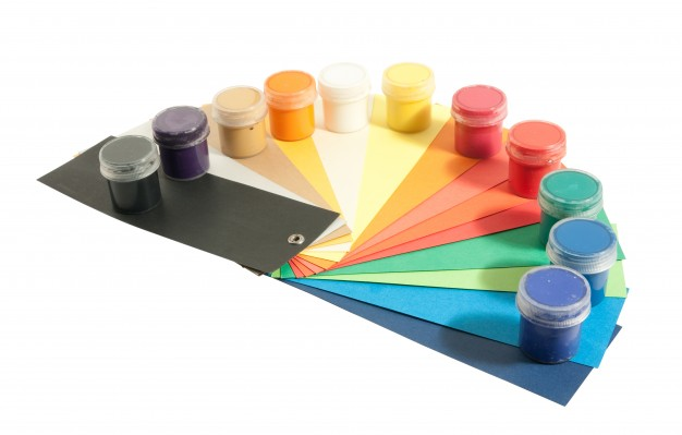 Waterproofing paints colored papers 1398 101