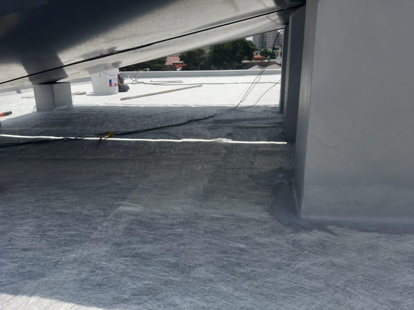 Waterproofing waterproofing roof 2