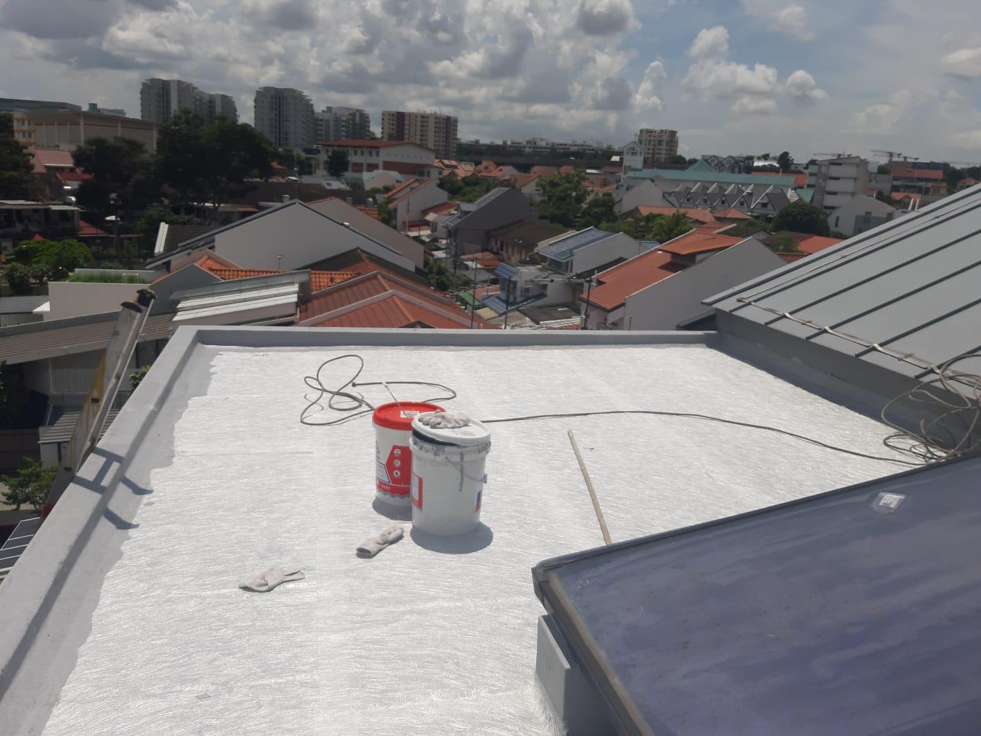 Waterproofing waterproofing roof 3